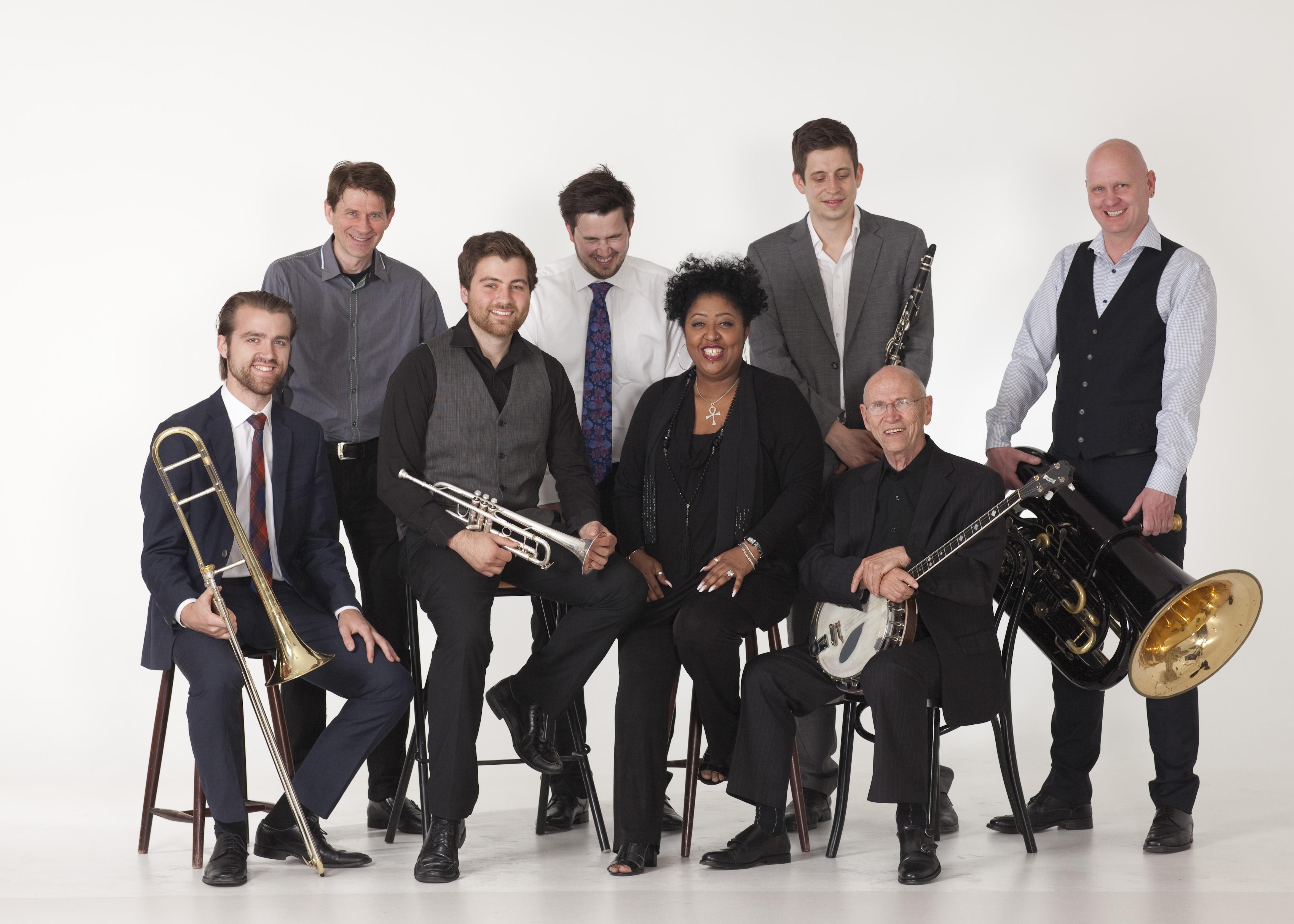 Ytre Suløens Jass-ensemble med Tricia Boutté